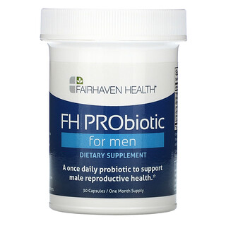 Fairhaven Health, FH PRObiotic for Men, 30 Capsules