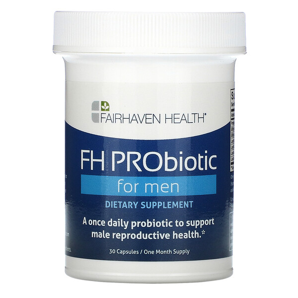 FH PRObiotic for Men, 30 Capsules