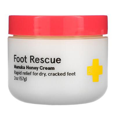 Купить First Honey Foot Rescue, Manuka Honey Cream, 2 oz (57 g)