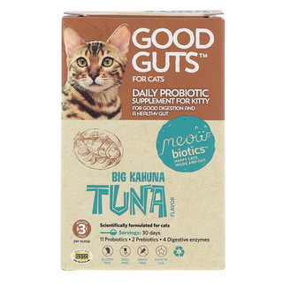 Fidobiotics, Good Guts, For Cats, Big Kahuna Tuna, 3 Billion CFU, 0.5 oz (15 g)