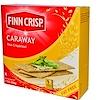 Finn Crisp, キャラウェー、薄いクリスプブレッド、7 オンス (200 g)