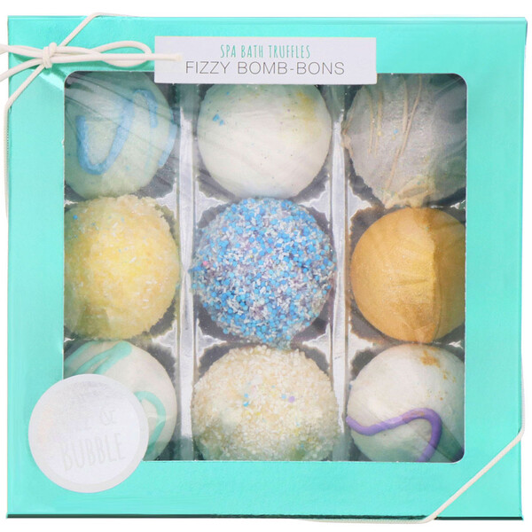 Fizz & Bubble, Spa Bath Truffles, Fizzy Bomb-Bons, 12 oz (340 g)