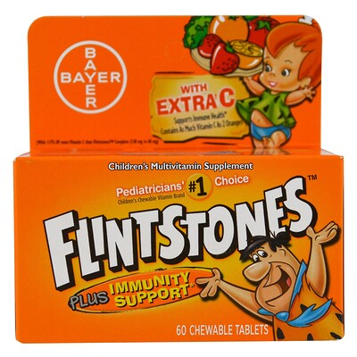 Детская мультивитаминная добавка, фруктовые ароматы, 60 жевательных таблеток с приятным вкусом недорого