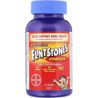 Flintstones, كامل، مكمل غذائي متعدد الفيتامينات للأطفال، 150 قرص قابل للمضغ