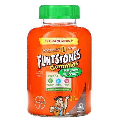Купить Flintstones Gummies, мультивитаминная добавка для детей, 150жевательных конфет