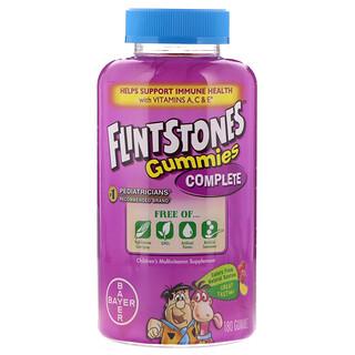 Flintstones, Gummies Complete,兒童多種維生素補充劑,180粒軟糖
