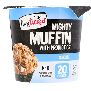 Флэпджэкид, Mighty Muffin, with Probiotics, S'mores, 1.94 oz (55 g) отзывы