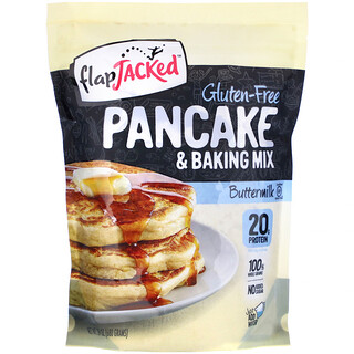 FlapJacked, Pancake and Baking Mix, Gluten-Free, Buttermilk, 24 oz (680 g)