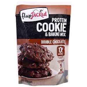 Флэпджэкид, Protein Cookie and Baking Mix, Double Chocolate, 9 oz (255 g) отзывы