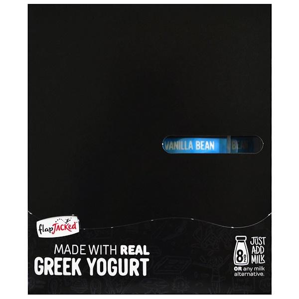 FlapJacked, Protein Smoothie With Greek Yogurt, Vanilla Bean, 12 Packets, 1.5 oz (42 g) Each