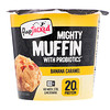 FlapJacked, Mighty Muffin with Probiotics, Banana Caramel, 1.9 oz (55 g)