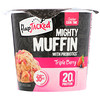 FlapJacked, Mighty Muffin with Probiotics, Triple Berry, 1.94 oz (55 g)
