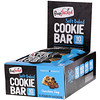 FlapJacked, Soft Baked Cookie Bar, Chocolate Chip, 12 Bars, 1.90 oz (54 g) Each