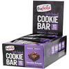 FlapJacked, Soft Baked Cookie Bar, Chocolate Brownie, 12 Bars, 1.90 oz (54 g) Each