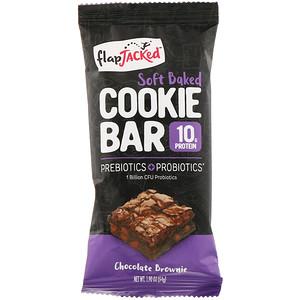 Флэпджэкид, Soft Baked Cookie Bar, Chocolate Brownie, 1.90 oz (54 g) отзывы покупателей