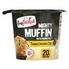 FlapJacked, 마이티 머핀, 프로바이오틱스 함유, 바나나 초콜릿 칩, 55g(1.94oz)