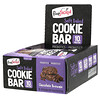 FlapJacked, Soft Baked Cookie Bar, Chocolate Brownie, 12 Bars, 1.90 oz (54 g) Each