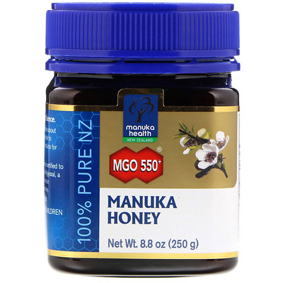 MGO 550+, Лесной мед манука, 8,75 унции (250 г)