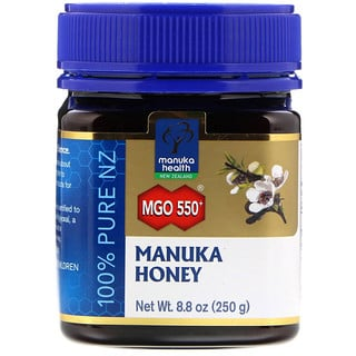 Manuka Health, Manuka Honey, MGO 550+, 8.8 oz (250 g)