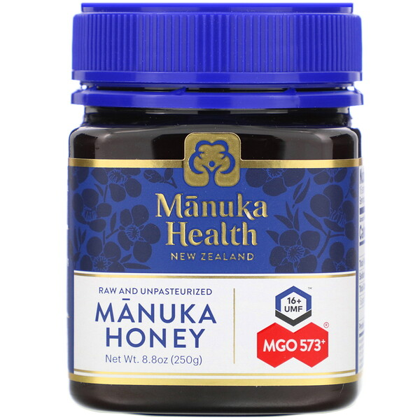 Manuka Honey, MGO 573+, 8.8 oz (250 g)