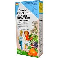 Floradix, Средство, которое любят дети, Мультивитаминная добавка для детей, 17 жидких унций (500 мл) - фото