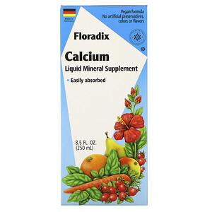 Флора, Floradix, Calcium, Liquid Mineral Supplement, 8.5 fl oz (250 ml) отзывы