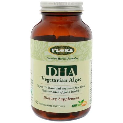 ДГК из водорослей, 60 вегетарианских мягких желатиновых капсул efagold мега дгк 1000 мг 60 мягких желатиновых капсул