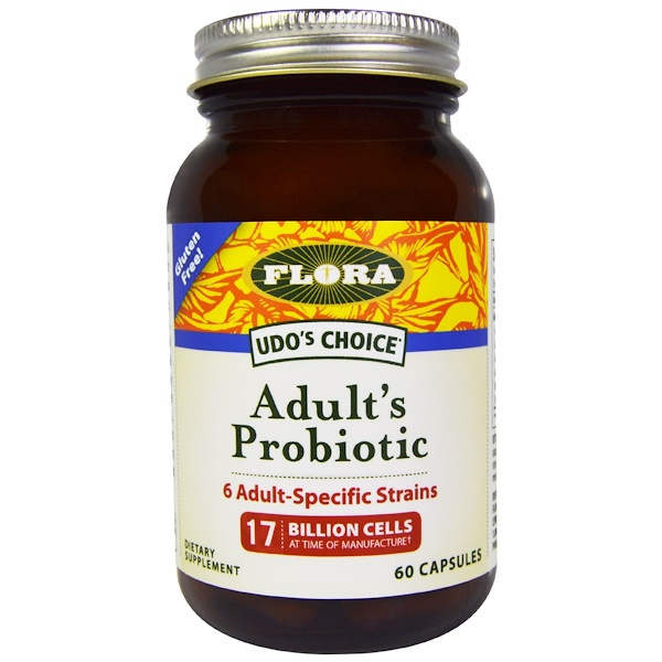 Udo's Choice, Adult's Probiotic, 17 Billion Cells, 60 Capsules