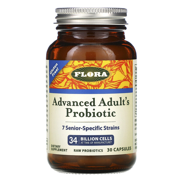 Udo's Choice, Advanced Adult's Probiotic, 34 Billion Cells, 30 Capsules