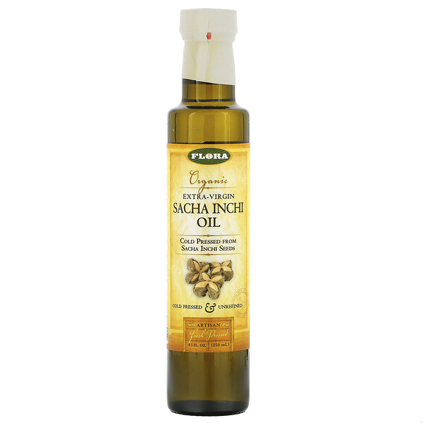 Organic Extra-Virgin Sacha Inchi Oil, 8.5 fl oz (250 ml)