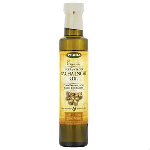 Флора, Organic Extra-Virgin Sacha Inchi Oil, 8.5 fl oz (250 ml) отзывы покупателей