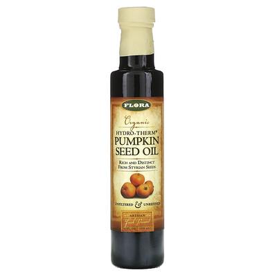 Flora Органическое тыквенное масло Hydro-Therm, 8,5 жидких унций (250 мл)