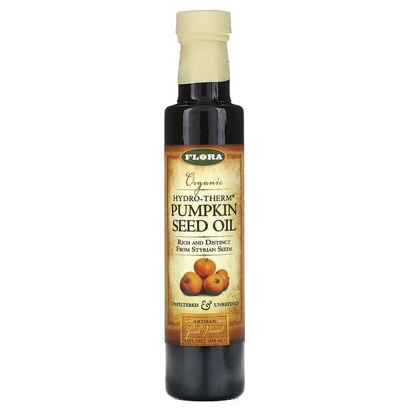 Organic Hydro-Therm Pumpkin Seed Oil, 8.5 fl oz (250 ml)