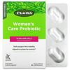Flora, Women's Care Probiotic, Shelf-Stable, 87 Billion Cells, 30 Vegetarian Capsules
