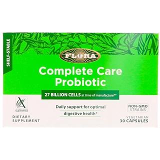 Flora, 컴플리트 케어 프로바이오틱, 30 채식주의 캡슐