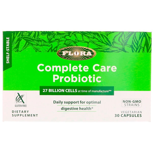Flora, Complete Care Probiotic, 30 Vegetarian Capsules (Discontinued Item)