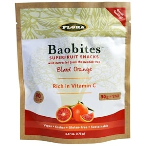 Флора, Baobites, Blood Orange, 6.17 oz (175 g) отзывы