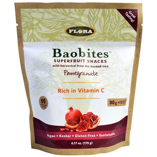 Flora, Baobites, Pomegranate , 6.17 oz (175 g) (Discontinued Item)