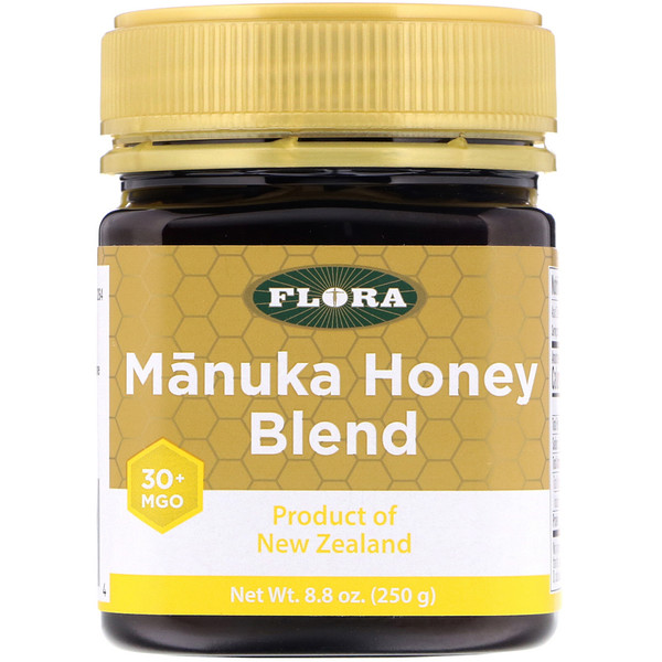 Flora, Manuka Honey Blend, MGO 30+, 8.8 oz (250 g)