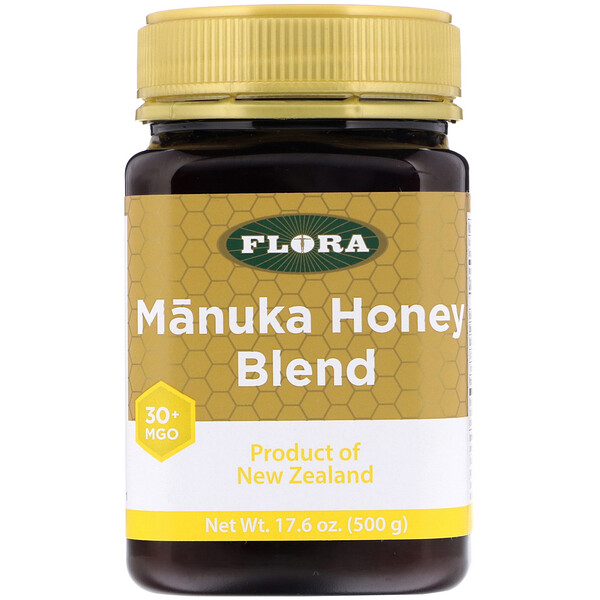 Manuka Honey Blend, MGO 30+, 17.6 oz (500 g)