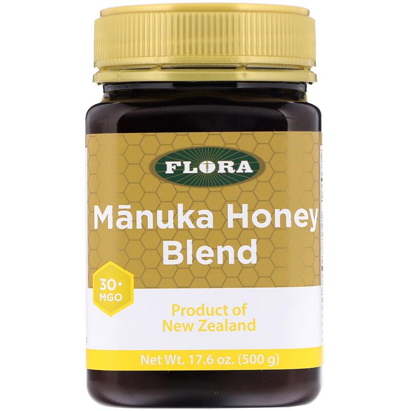 Flora, Manuka Honey Blend, MGO 30+, 17.6 oz (500 g)
