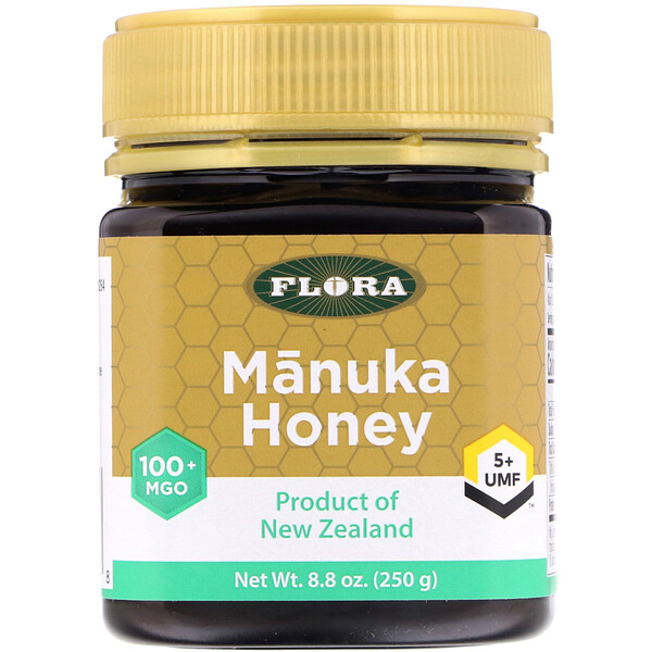 Flora, Manuka Honey, MGO 100+, 8.8 oz (250 g)