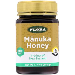 Flora, Manuka Honey, MGO 100+, 17.6 oz (500 g)