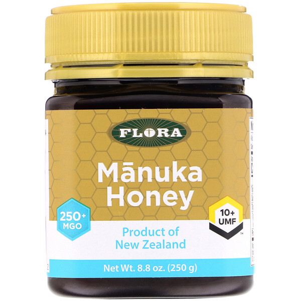 Flora, Manuka Honey, MGO 250+, 8.8 oz (250 g)