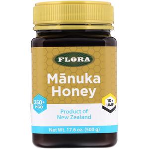 Флора, Manuka Honey, MGO 250+, 17.6 oz (500 g) отзывы
