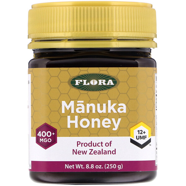 Flora, Manuka Honey, MGO 400+, 8.8 oz (250 g)