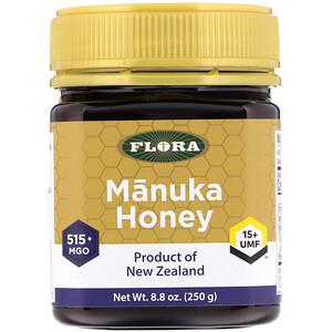 Флора, Manuka Honey, MGO 515+, 8.8 oz (250 g) отзывы