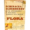 Flora, Echinacea Elderberry with Cranberry & Rooibos Herbal Tea Blend, Caffeine-Free, 16 Tea Bags, 1.30 oz (36.8 g) (Discontinued Item)