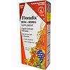 Flora, Floradix, Iron + Herbs Supplement, Liquid Extract Formula, 23 fl oz (700 ml)