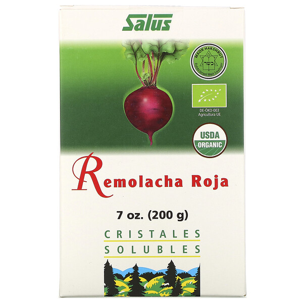 Red Beet, Soluble Crystals, 7 oz (200 g)